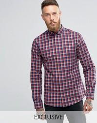 Рубашка с воротником с широко расставленными углами Heart & Dagger
