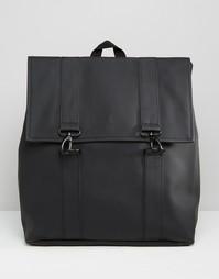 Черный рюкзак Rains Messenger - Черный