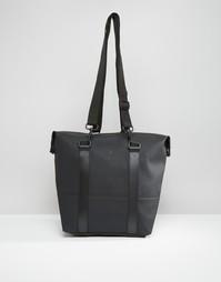 Черная сумка Rains City - Черный