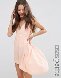 Пляжное платье мини ASOS PETITE - Blush