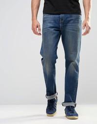Прямые джинсы с винтажной потертостью Levis 504 Bingham - Bingham Levis®