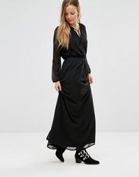 Платье макси Only Ewan - Черный