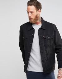 Куртка из черного денима Levis - Berkman Levis®