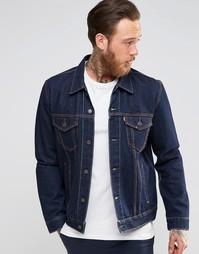 Куртка из темного денима Levis - Темно-синий цвет Levis®