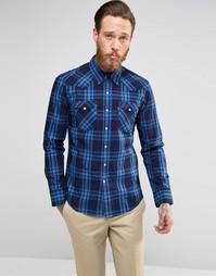 Клетчатая рубашка цвета индиго в стиле вестерн Levis Barstow Levis®