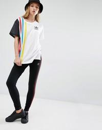Леггинсы с тремя полосками adidas Originals Primary - Черный