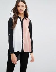 Блузка в стиле колор блок Influence - Розовый