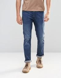 Темные джинсы слим цвета индиго Levis Line 8 511 - Винтажный индиго