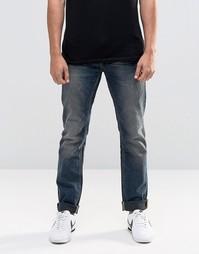 Синие узкие джинсы в винтажном стиле Blend Twister - Denim mid