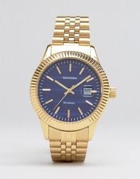 Часы с черным циферблатом Sekonda эксклюзивно для ASOS - Золотой