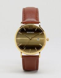 Часы с золотистым циферблатом Sekonda эксклюзивно для ASOS - Рыжий