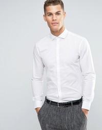 Однотонная строгая рубашка Esprit - Белый