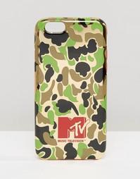Чехол для iPhone 6 с камуфляжным принтом MTV - Камуфляжный