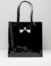 Черная большая сумка Ted Baker - Черный