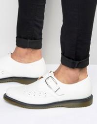 Туфли с ремешком Dr Martens - Белый