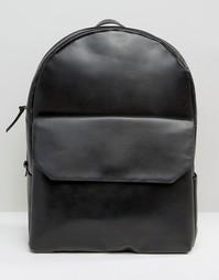 Черный кожаный рюкзак Royal RepubliQ - Черный