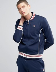 Спортивная куртка с воротником в стиле ретро Fila Vintage
