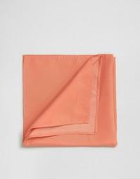 Коралловый платок для пиджака ASOS WEDDING - Коралловый