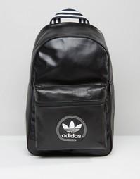 Черный рюкзак с перфорацией adidas Originals AY7744 - Черный