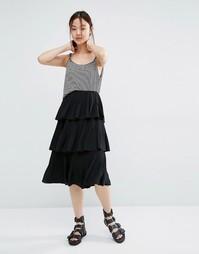 Шифоновая юбка Zacro - Черный