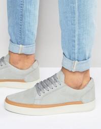 Замшевые кроссовки Boxfresh Civik - Серый