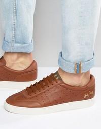 Замшевые кроссовки Fred Perry Umpire - Рыжий