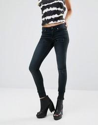 Облегающие джинсы Cheap Monday Prime L32 - Smudge Тrashed