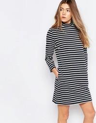 Платье в темно-синюю полоску Wood Wood Mary - Темно-синяя полоска