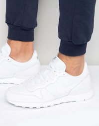 Nike Internationalist Prm Trainers In White 828043-100 - Белый