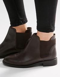 Кожаные ботинки челси ASOS AMERICAN - Кожа