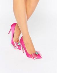 Декорированные туфли на высоком каблуке с острым носком ASOS PAYDAY