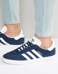 adidas Originals Gazelle Trainers In Navy BB5478 - Темно-синий