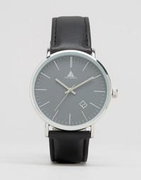 Черные часы с индикацией даты ASOS - Черный