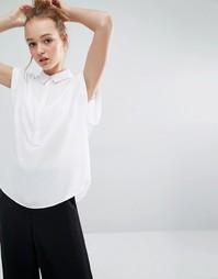 Рубашка без рукавов Monki - Белый