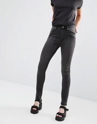 Облегающие джинсы Cheap Monday L34 - Cold black (черный)