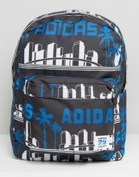 Рюкзак adidas Originals Nigo LA - Темно-синий