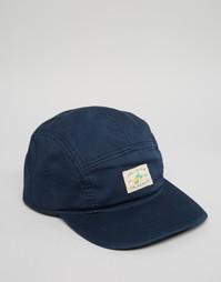5-панельная кепка Hollister - Темно-синий