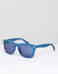 Синие квадратные солнцезащитные очки Marc By Marc Jacobs - Синий