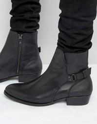 Кожаные ботинки House Of Hounds Steele Jodphur - Черный