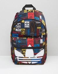 Рюкзак с принтом логотипа adidas Originals AZ0280 - Мульти