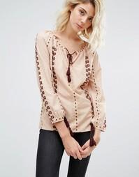 Блузка с вышивкой Gat Rimon Analis Boho - Роза