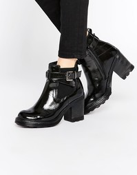 Массивные ботинки челси на каблуке Bronx - Черный