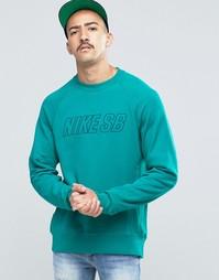 Синий свитшот с круглым вырезом Nike SB Everett Reveal 800139-351