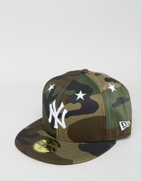 Кепка New Era 59Fifty NY Yankees - Зеленый