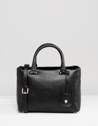 Маленькая кожаная сумка‑тоут Modalu - Черный