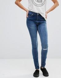 Облегающие джинсы Cheap Monday L32 - Surreal blue