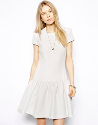 Bечернее платье с заниженной талией и короткими рукавaми Twenty8Twelve