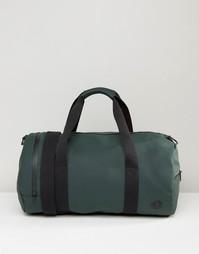 Зеленая матовая сумка Fred Perry - Зеленый
