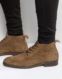 Замшевые ботинки Hudson London Cooke - Рыжий