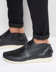 Кожаные кроссовки Boxfresh Statley - Черный